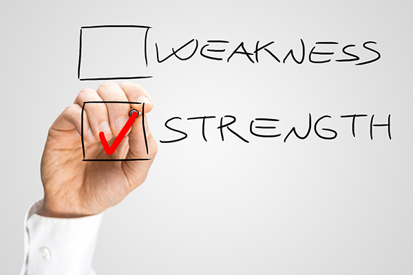 identify your strengths and weaknesses in writing